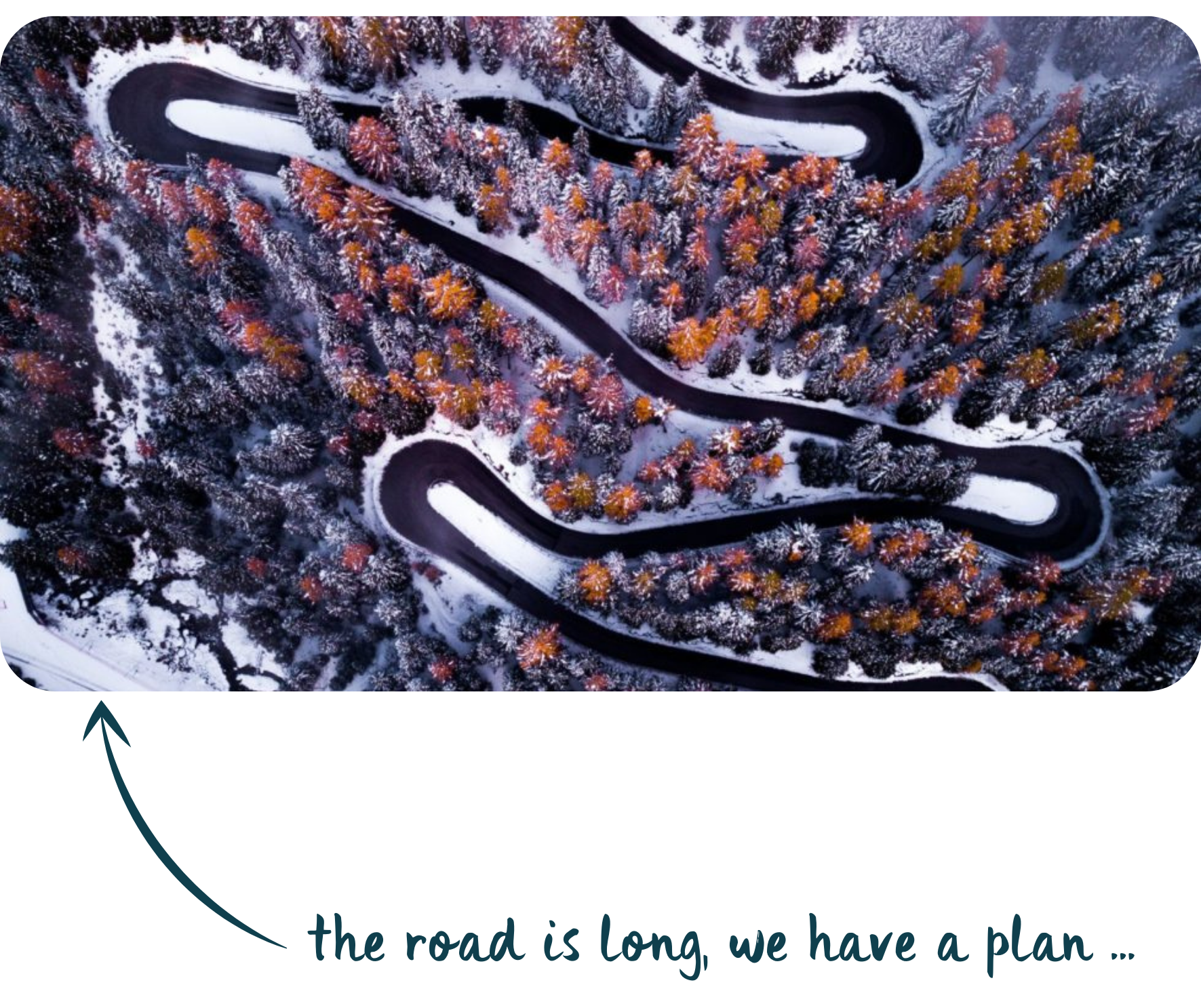 the road is long, we have a plan ...